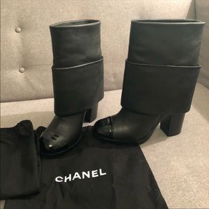 CHANEL FOLD OVER BOOT